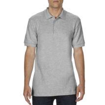 Gildan Premium Cotton galléros póló (sportszürke) 3e5b95a1d4