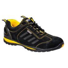 Portwest FW34 Steelite Lusum munkavédelmi cipő S1P (fekete/sárga)