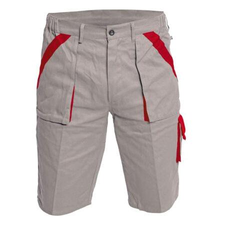 MAX rövidnadrág (szürke/piros)