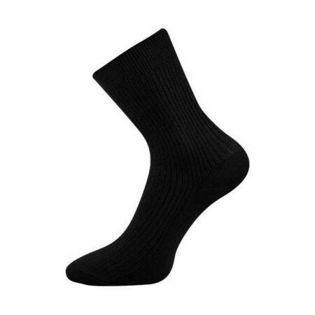 Prince Classic gumi nélküli zokni (42/43, fekete)