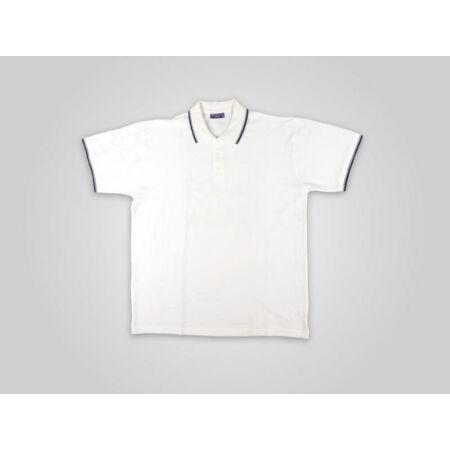 Sol's practice galléros póló (fehér/tengerész kék)