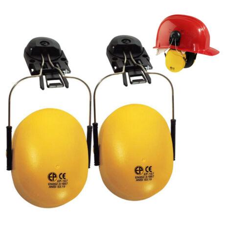 Fültok és adapter munkavédelmi sisakhoz