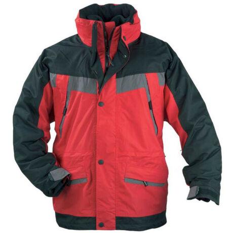 Coverguard Iceberg vitorlás kabát (fekete/piros)