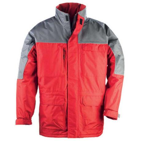 Coverguard Ripstop kabát (piros/szürke)