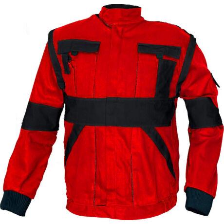 CRV Max Classic munkakabát (piros/fekete)