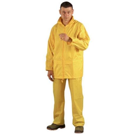 Coverguard orkán ruha (sárga)