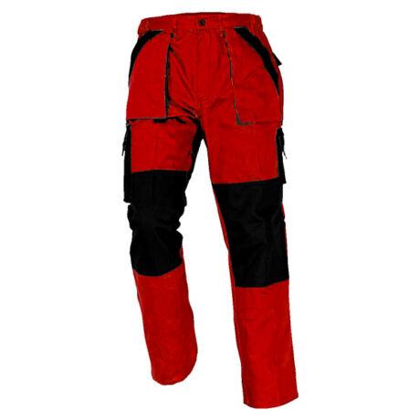 CRV Max Classic munkásnadrág (piros/fekete)
