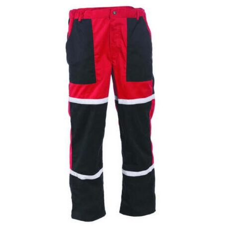 CRV Tayra munkásnadrág (fekete/piros)