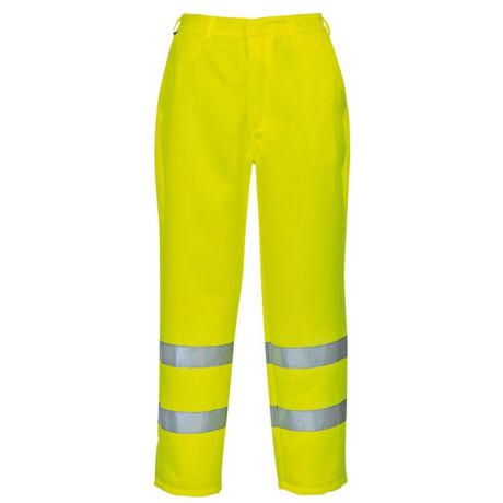 Portwest E041 Jól láthatósági munkásnadrág (sárga)