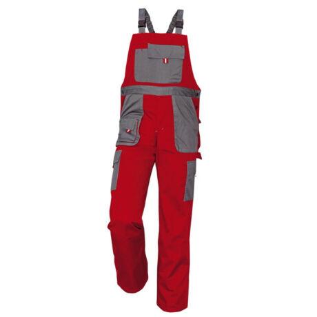 CRV Max Evolution kantáros nadrág (piros/szürke)