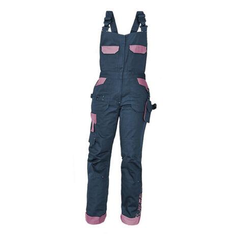 CRV Yowie női kantáros nadrág (tengerészkék/lila)