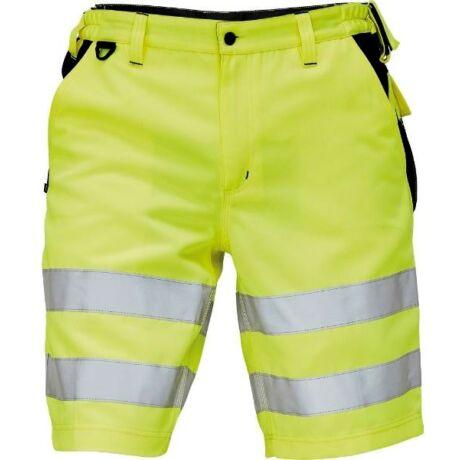 Knoxfield jól láthatósági rövidnadrág (fluo sárga)
