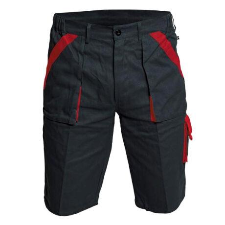 MAX rövidnadrág (fekete/piros)