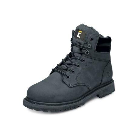 Black Knight Honey Ankle Winter munkavédelmi bakancs (fekete)