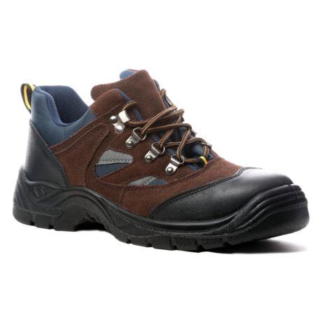 Coverguard Copper S1P SRC munkavédelmi cipő (barna/kék)
