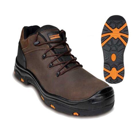 Coverguard Topaz S3 SRC HRO munkavédelmi cipő (barna)