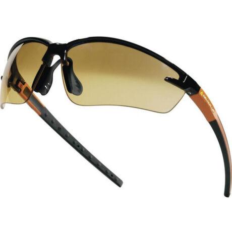 Delta Plus Fuji2 munkavédelmi szemüveg (narancs)
