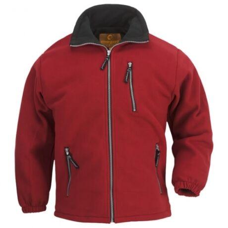 Coverguard Angara cipzáras pulóver (piros)