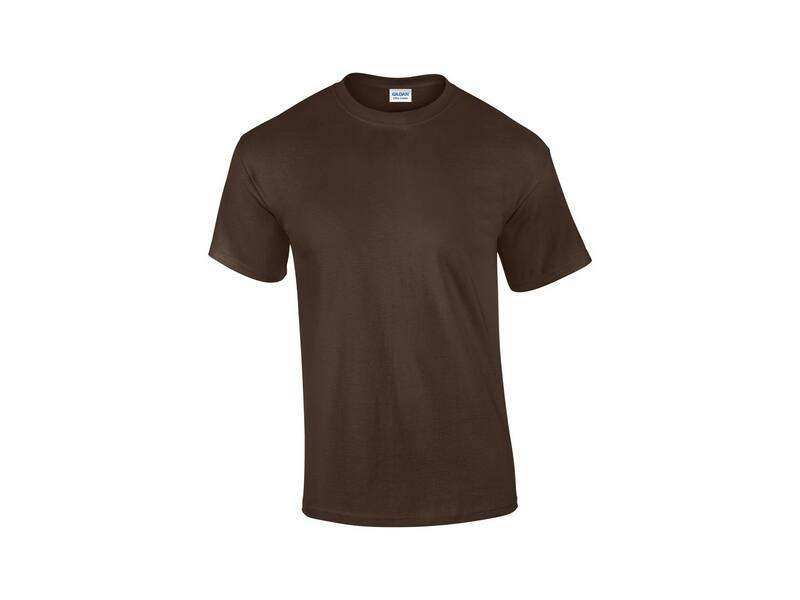 Gildan Ultra Cotton póló (csoki) 415d0488a1