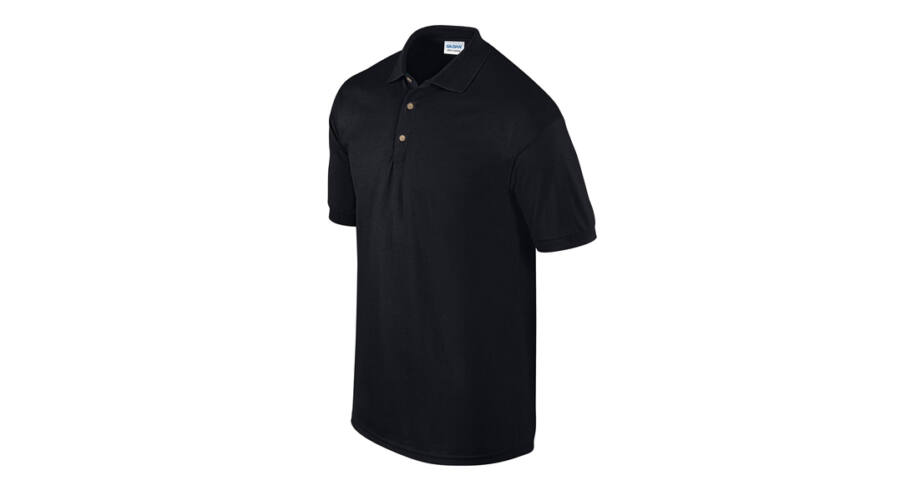 Gildan Ultra Cotton galléros póló (fekete) Nagyításhoz kattintson a képre! 1c80543ac1