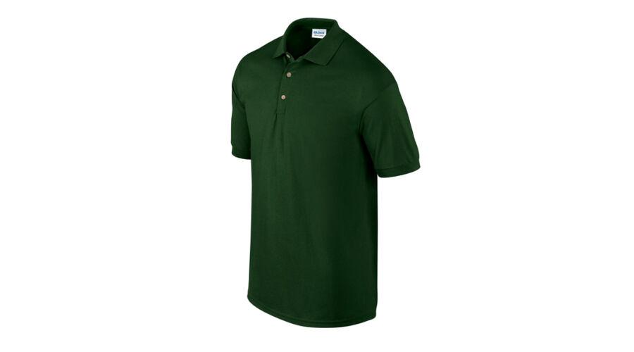 Gildan Ultra Cotton galléros póló (sötétzöld) Nagyításhoz kattintson a  képre! e1ce308beb