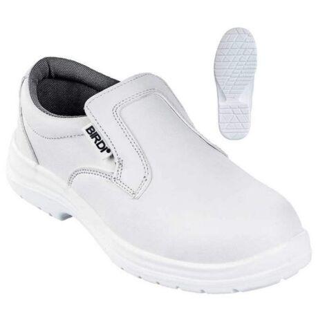 Coverguard Birdi O2 fémmentes munkavédelmi cipő (fehér)